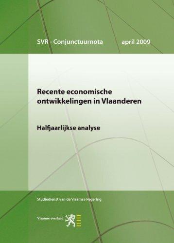 Conjunctuurnota april 2009 - Vlaanderen.be