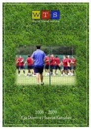Yurtdışı Profesyonel Futbol Takım Kampları