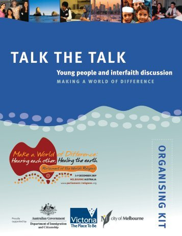 TALK THE TALK - Council for a Parliament of the World's Religions