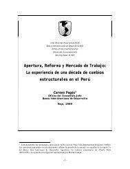 Apertura, Reforma y Mercado de Trabajo: La ... - Cholonautas