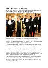 BBB — the Tory medal of honour - Loughton, Tim
