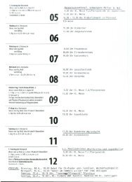 Wochenplan 2013-05-05 6. Sonntag in der Osterzeit