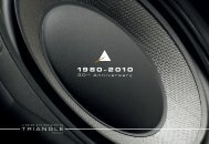 TRIANGLE - Audiowaveshifi.com
