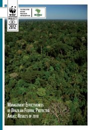 management effectiveness of brazilian federal protected areas