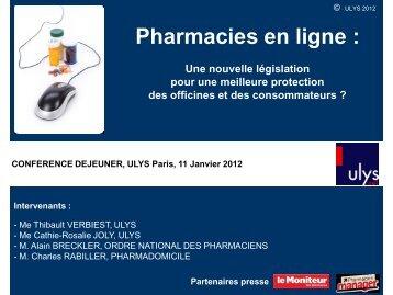 Pharmacie en ligne - Ulys