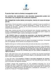 Renovação de contratos - NOVO - Fenprof