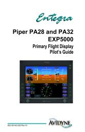 Piper PA28 and PA32 EXP5000