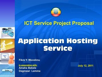 Application Hosting Service - ICTET