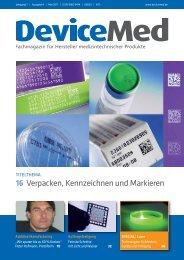 Marktübersicht: Verpacken - DeviceMed.de