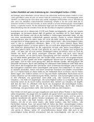 Luthers Rückblick auf seine Entdeckung der >Gerechtigkeit Gottes ...