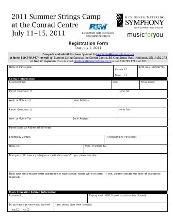 Pizza Hut Kitchen Tour Registration Form
