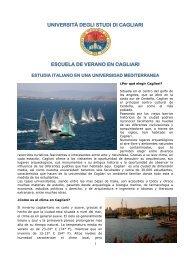 Università degli Studi di Cagliari - Universidad de La Rioja
