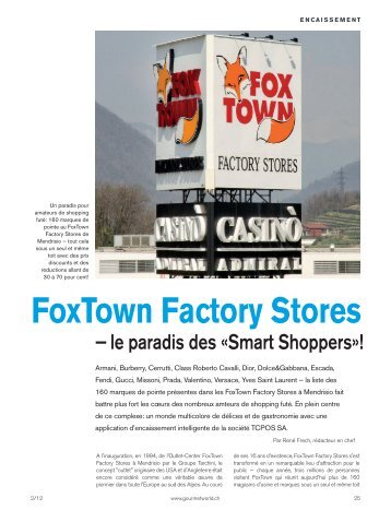 Foxtown Factory Stores