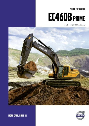 EC460B Prime - Volvo Construction Equipment