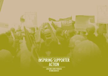 INSPIRING SUPPORTER ACTION - National Council for Voluntary ...