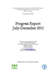 Food and Agriculture Organization of the United Nations Pesticide ...