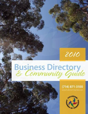 Business Directory - Fullerton Chamber of Commerce