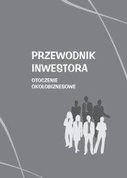 Przewodnik Inwestora - otoczenie okołobiznesowe - Gorzów