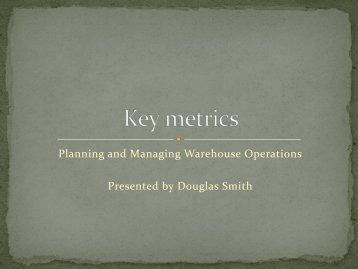 Key metrics - Multichannel Merchant
