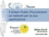 Scarica la presentazione (643Kb) - Agenda 21 Locale del Comune ...