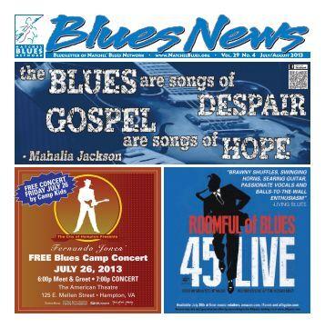 JULY-AUG 2013 - Natchel' Blues Network