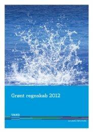 Grønt regnskab 2012 for Vand A/S - Forsyning.dk