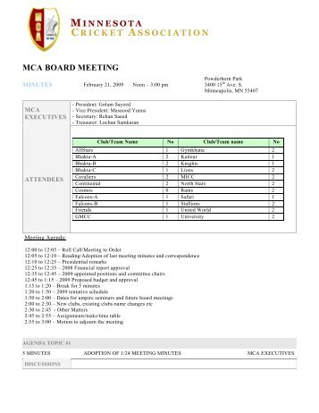 SCIP MEETING MINUTES-TEMPLATE