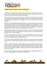 HISTÓRICO DO CIRCUITO ANQM x ASSOVARN ... - Portal Do Equino