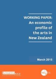 Economic profile arts 2015 (D-0590039)