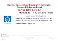 IP, ICMP