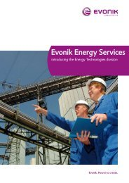 Evonik Energy Services - STEAG Energy Services GmbH