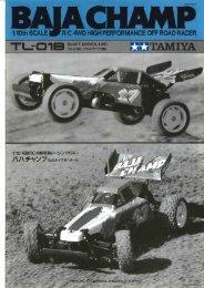 Tamiya Baja Champ Manual - Wheelsacademy.info