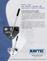 About Your New Navtec System 50