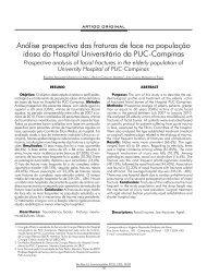 Análise prospectiva das fraturas de face na população ... - ABCCMF