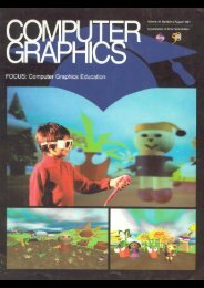 Submission to SIGGRAPH '97 Educators program (03/25/97)