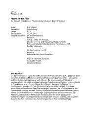 Atome in der Falle Moderation - Ralf Krauter