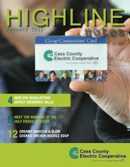 January 2011 - Cass County Electric Cooperative