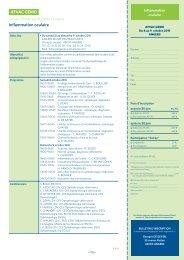 Inflammation oculaire AFVAC GEMO