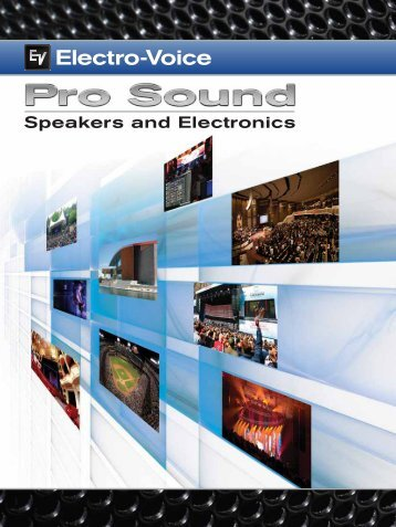 Speakers and Electronics - SBL Acoustics