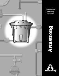 2011 All Products Catalog - Armstrong International, Inc.
