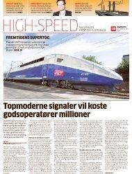 topmoderne signaler vil koste godsoperatører millioner - LiveBook