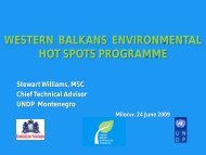 Study Tour - Western Balkans Environment Programe