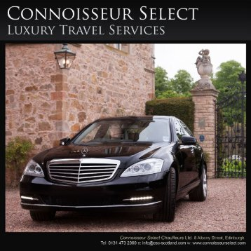 Email - Connoisseur Select Chauffeurs