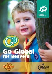 for Beavers - Northamptonshire County Scouts