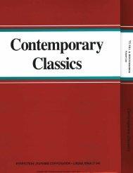 Contemporary Classics—To Kill a Mockingbird - Perfection Learning