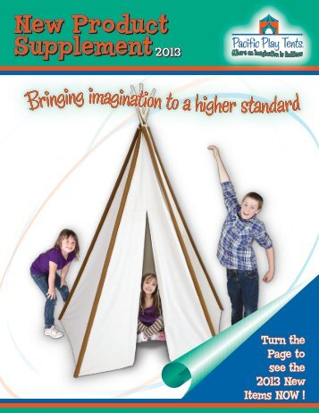 Download 2013 Supplement - Pacific Play Tents
