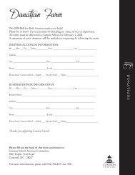 Donation Form - Cannon School