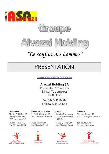 Téléchargez Notre Organigramme Groupe Alvazzi