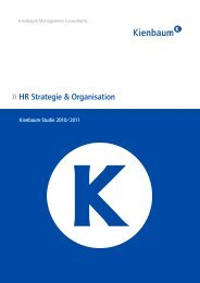 HR Strategie & Organisation - WiWi-TReFF