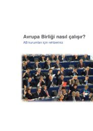 AB Nasıl Çalışır? - Delegation of the European Union to Turkey